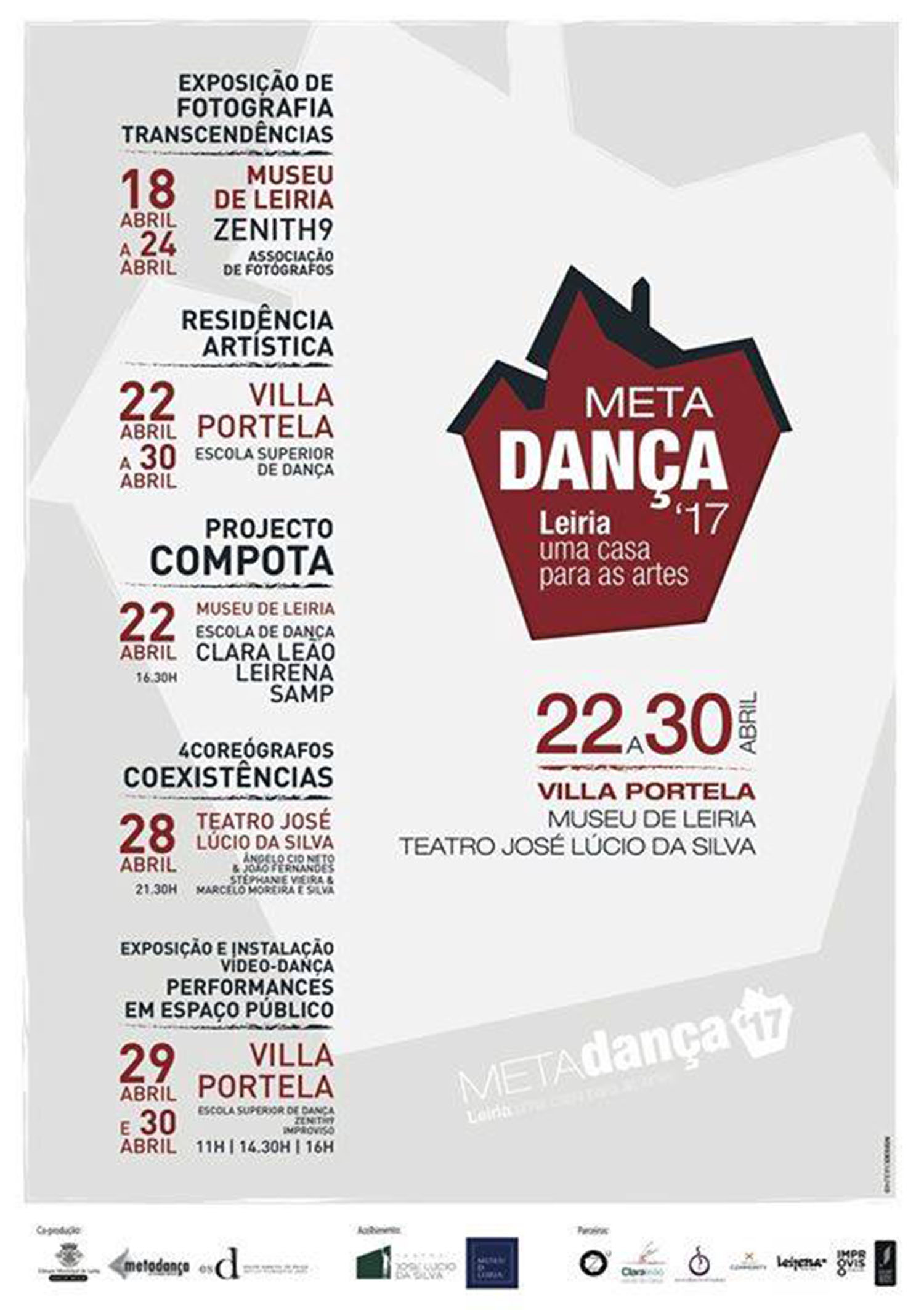 CARTAZ COMPOTA NO METADANÇA 2017