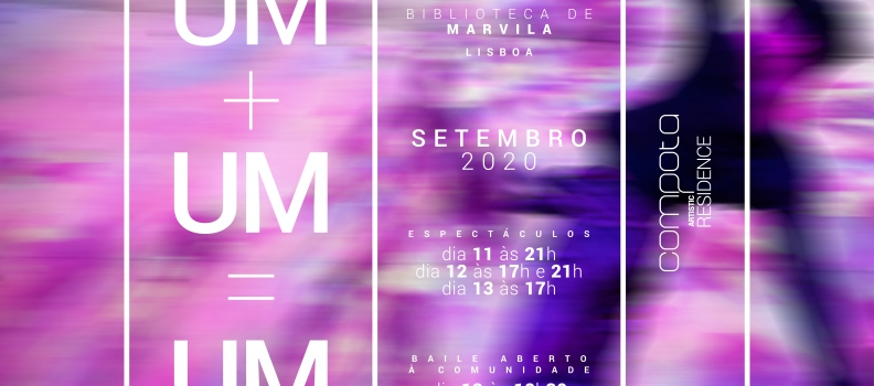 "COMPOTA ""UM+UM=UM"" September 11, 12 and 13 at Marvila Library"