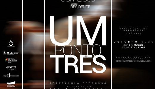 """UMPONTOTRÊS"" / October 17th at Alcântara Library"